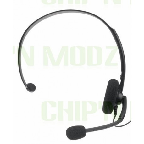 Micro-casque officiel Xbox 360 NOIR