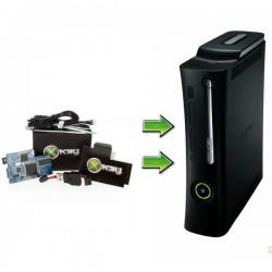 Installation Xkey (x3key) / Xbox 360 PHAT, LiteOn DG16D4S (slim)
