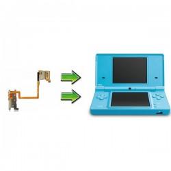 Réparation gachettes L & R / Slot SD Nintendo Dsi