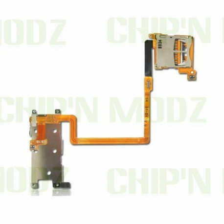 Nappe bouton L & R (gachettes) + Slot SD