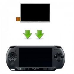 Réparation écran LCD PSP STREET (E-1000)