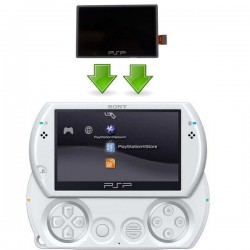 Réparation écran LCD PSP GO