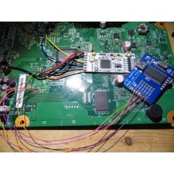 Flash Nand Xbox 360 - Via module SPI