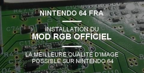 MOD RGG OFFICIEL Nintendo 64 FRA